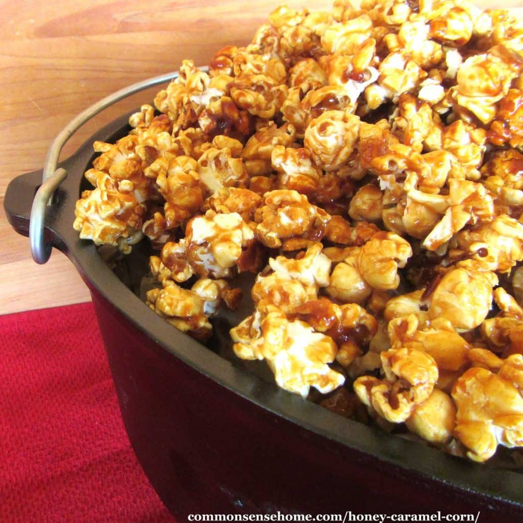Honey Caramel Corn Recipe A Fun And Easy Family Treat