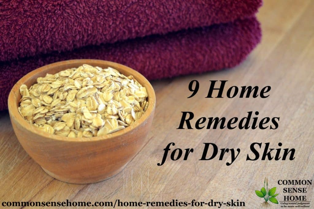 oats for dry skin