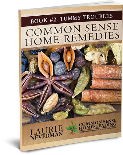 Common Sense Home Remedies Book #2 – Tummy Troubles Help for Upset Stomach, Acid Reflux, Stomach Flu, Constipation, Diarrhea and Gas