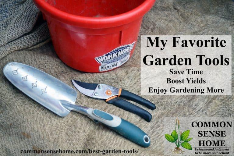 The Best Garden Tools Help Make Gardening Easier