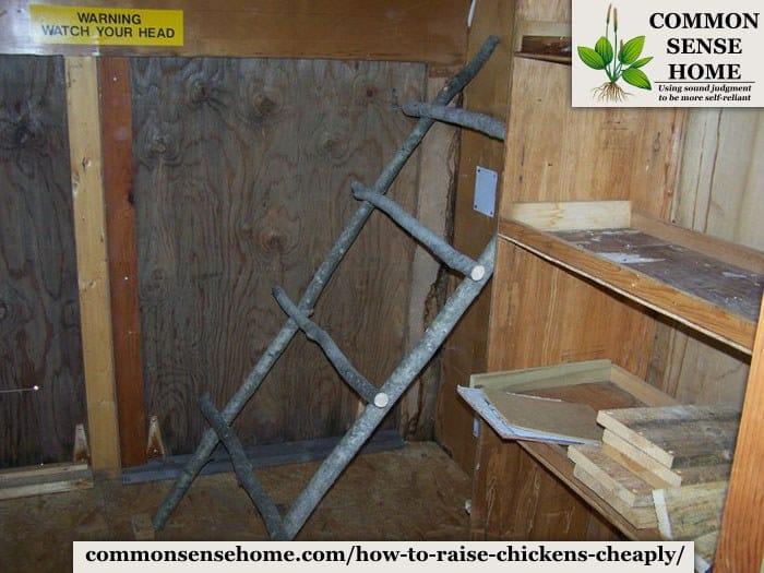 chicken coop interior