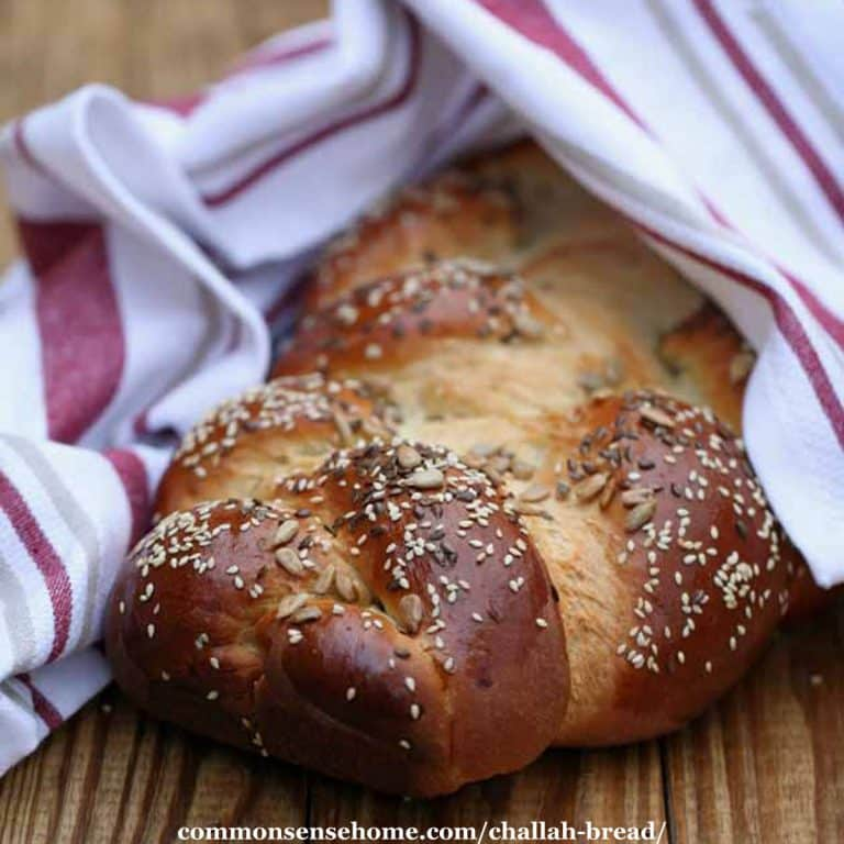 How to Make Challah Bread – Step by Step Photos and Braid Video