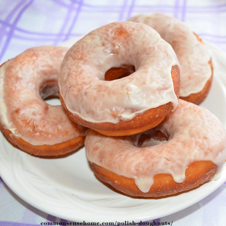 Polish Doughnuts – My Grandmother's Recipe for Homemade Doughnuts