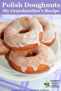 Homemade Polish Doughnuts