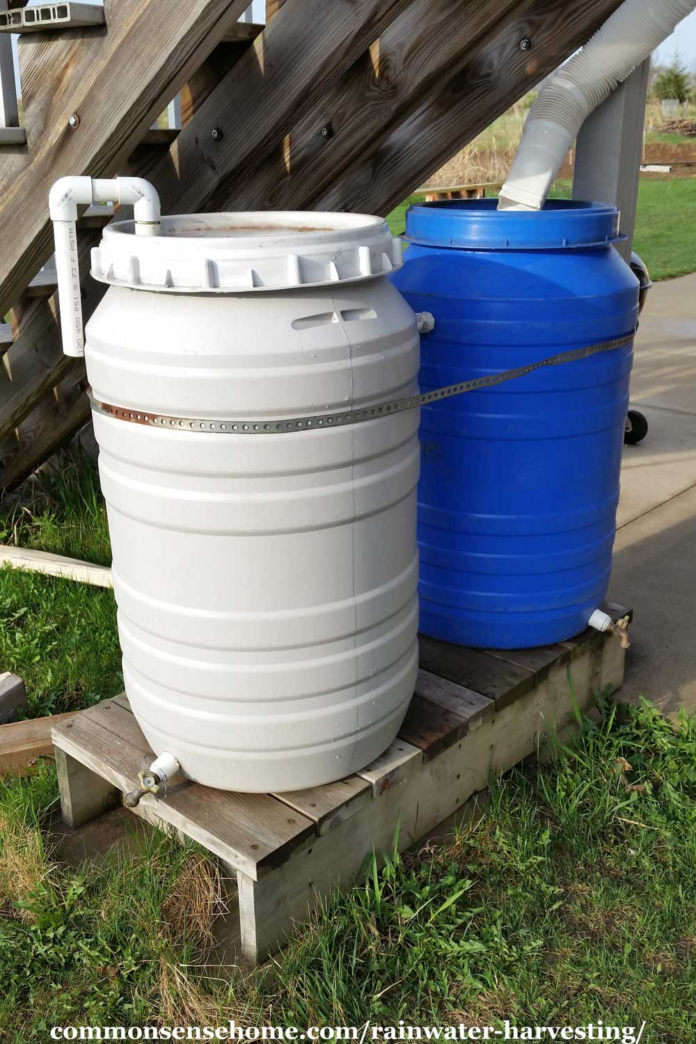 rainbarrel case Rain barrels are used to collect water that falls off into a home's  fundamental  creed on which decades of water case law have been built.