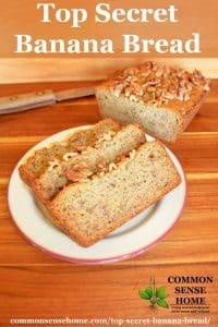 top secret banana bread