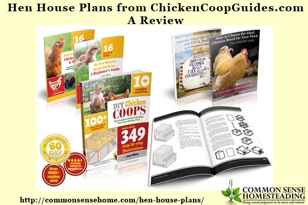 More than hen house plans, John White provides an introduction to all things backyard chicken with his coop design and chicken guidebooks combination.