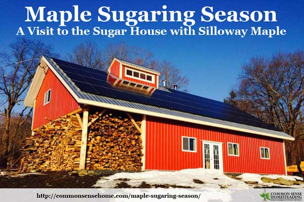 Maple Sugaring Season - A Visit to the Sugar House with Silloway Maple, Plus delicious recipes to enjoy your maple syrup - maple buttons, no bake cookies and maple popcorn.
