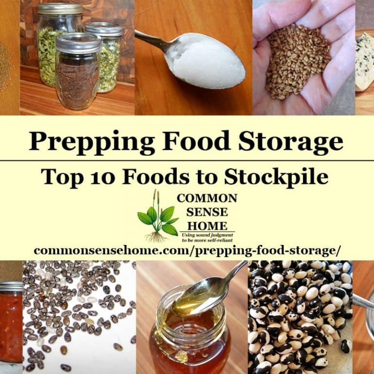 Prepping Food Storage – Top 10 Foods to Stockpile