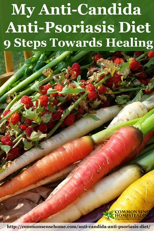 My Anti-Candida, Anti-Psoriasis Diet - 9 Steps Towards Healing