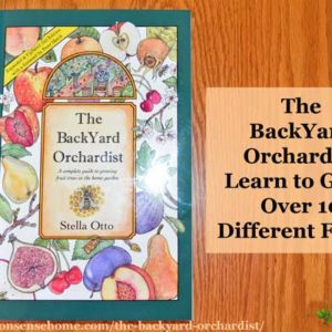 """Bring back the backyard fruit tree with Stella Otto's """"The Backyard Orchardist - A Complete Guide to Growing Fruit Trees in the Home Garden""""."""