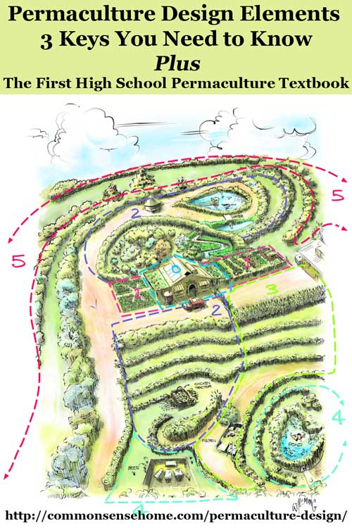 Permaculture Design Elements - 3 Keys You Need to Know on garden designs zone 7, garden designs zone 6, garden designs zone 3,