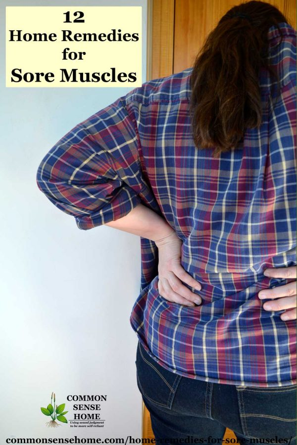 how to relieve muscle pain in back