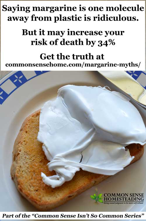 Please quit spreading margarine myths about turkeys and plastic! The truth is that margarine may increase your risk of death, cancer and diabetes.