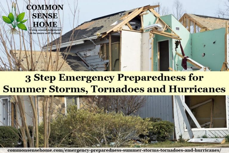 Emergency Preparedness – Summer Storms, Tornadoes and Hurricanes