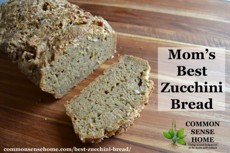 Mom's Best Zucchini Bread Recipe – A Homestyle Country Classic