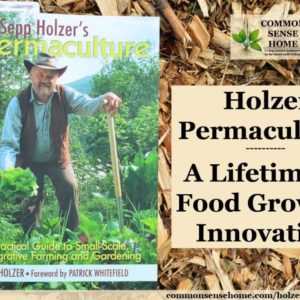 If you are ready to open your mind to the possibilities beyond today's food growing status quo, check out Sepp Holzer's Permaculture.