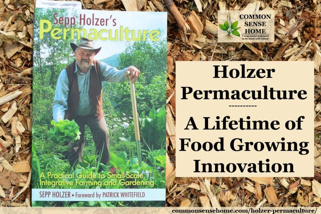 Sepp Holzer's Permaculture book