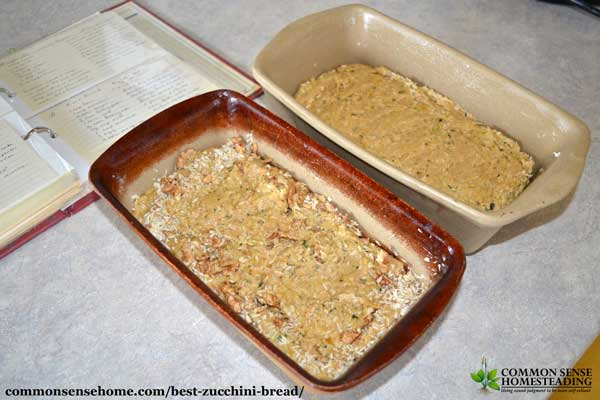 Mom's best zucchini bread recipe was a staple during zucchini season. The zucchini keeps it moist and tender. Enjoy with butter, cream cheese or plain.