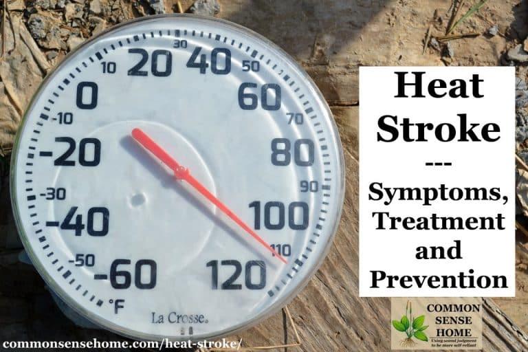Heat Stroke – Symptoms, Treatment and Prevention