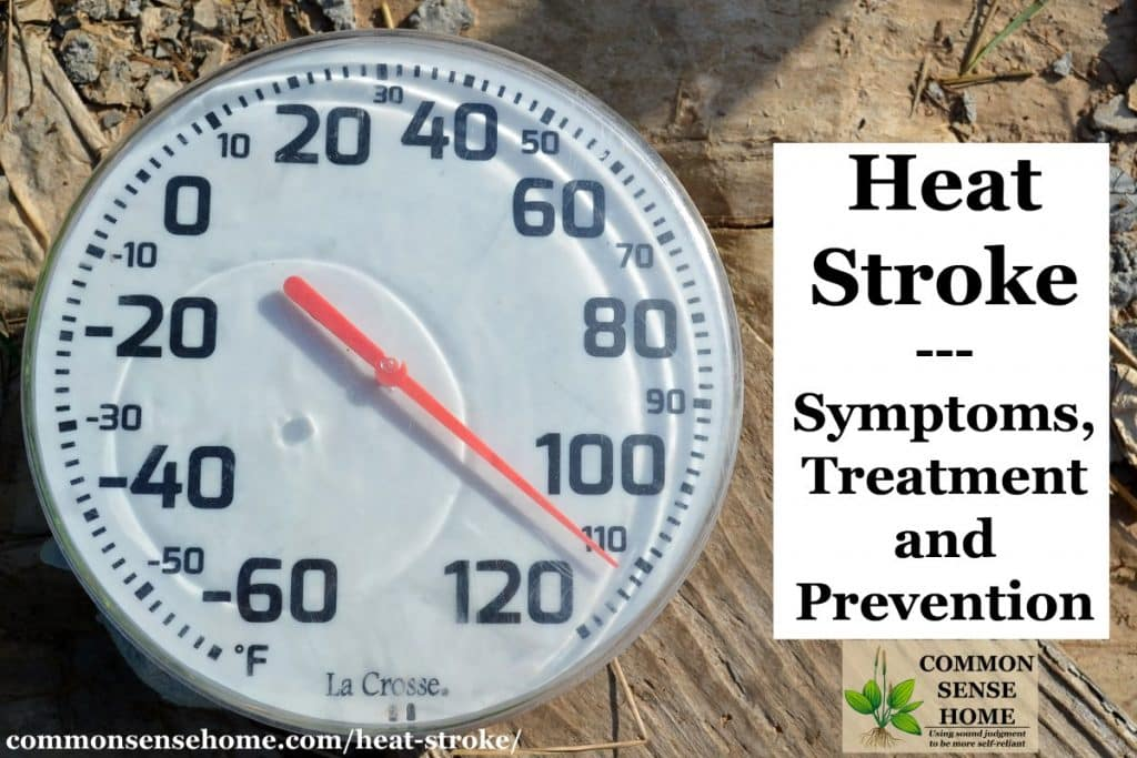 Heat Stroke - Symptoms, Prevention and Treatment