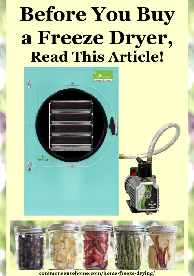 Home Freeze Drying - Read this Before You Buy a Freeze Dryer