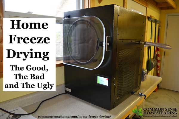 home freeze drying home freeze drying the good, the bad and the ugly  at panicattacktreatment.co