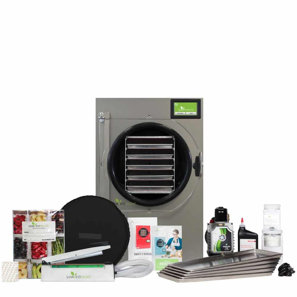 large home freeze dryer and accessories