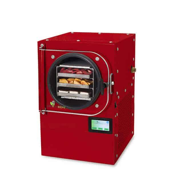 small red freeze dryer without pump