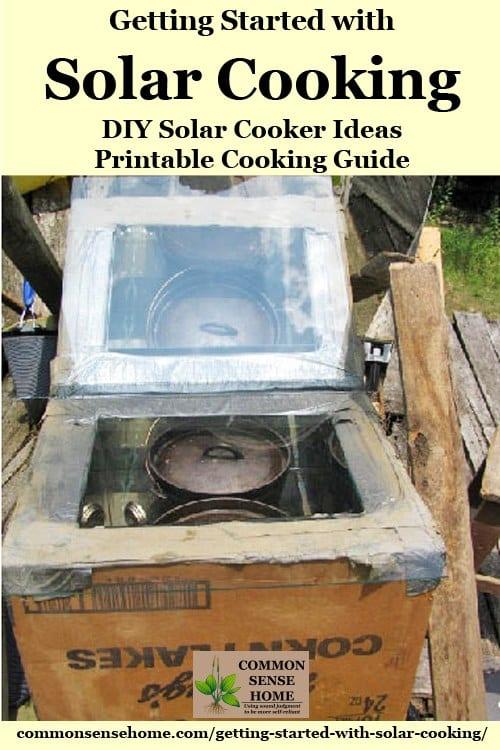 diy solar cooker