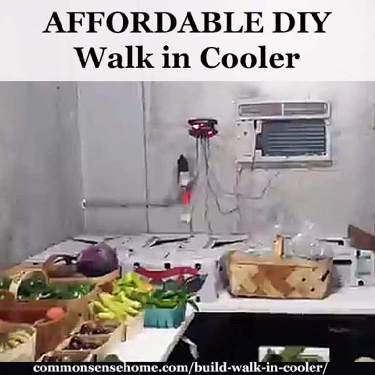 Build Your Own Walk In Cooler with a CoolBot Controller and A/C Unit