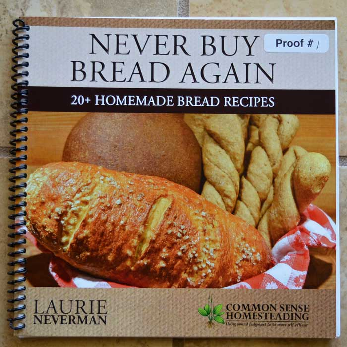 Never Buy Bread Again Bread Book