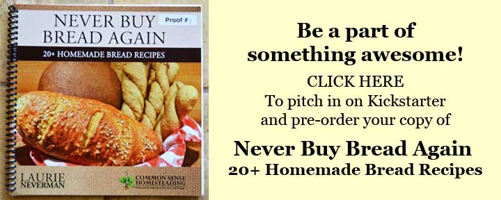 Get Your Copy of Never Buy Bread Again