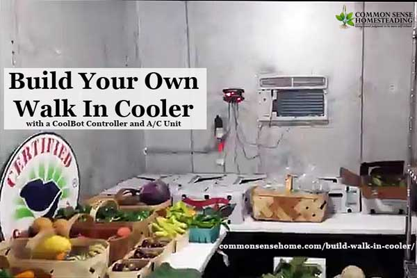 A CoolBot and household window A/C unit lets you turn any well insulated room into a walk in cooler, saving you thousands versus a commercial cooler.