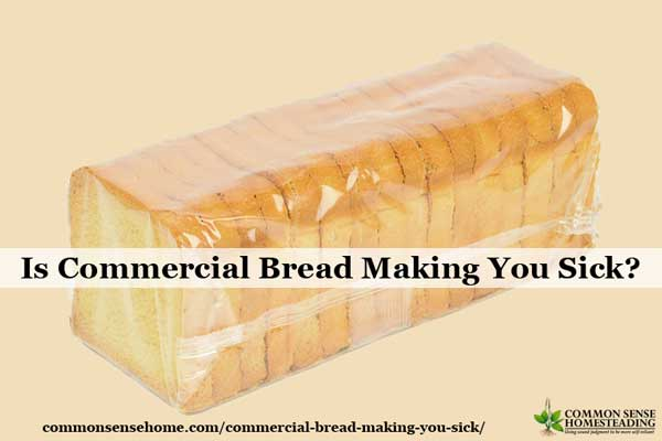 Is Commercial Bread Making You Sick?