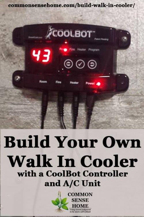 coolbot walk in cooler control