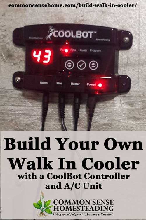 Build Your Own Walk In Cooler With A Coolbot Controller