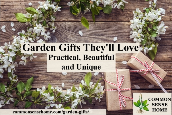 Arranged gifts & Garden Gifts Theyu0027ll Love - Practical Beautiful and Unique