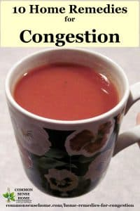 natural decongestant tea