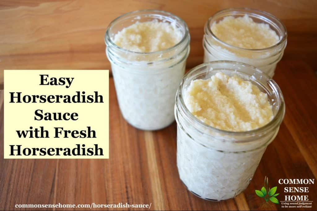 Easy Horseradish Sauce Recipe With Fresh Horseradish Root