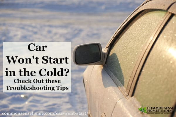 If your car won't start in the cold, the best solution combines proper maintenance and options to make a cold start easier on your vehicle.