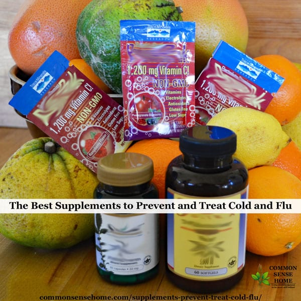 In this post, we'll talk about some of the most effective supplements to prevent and treat cold and flu - vitamin C, vitamin D and zinc.