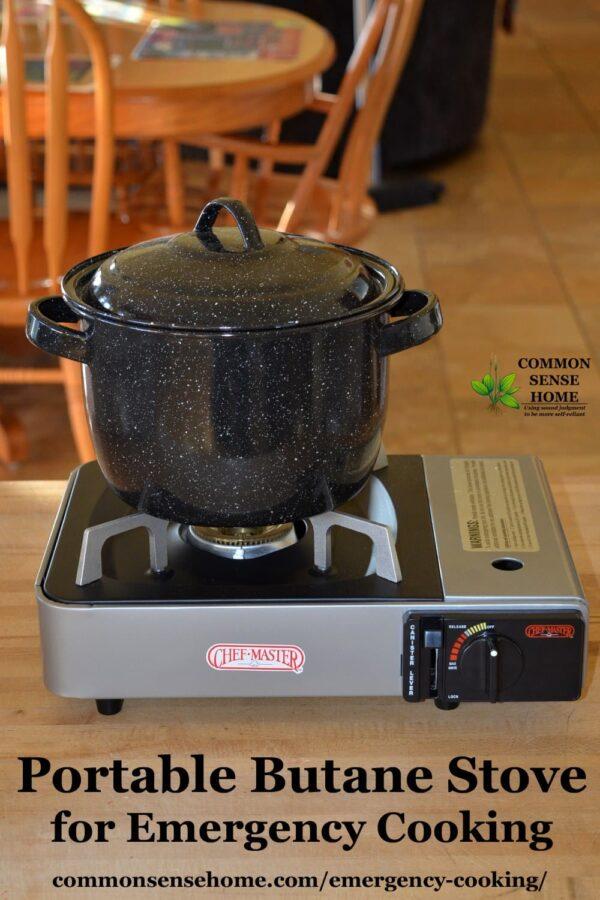 portable butane stove
