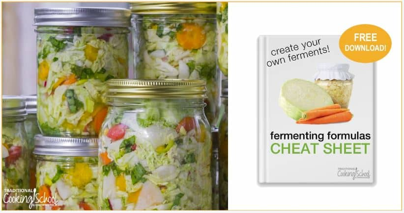 Fermenting Cheat Sheet