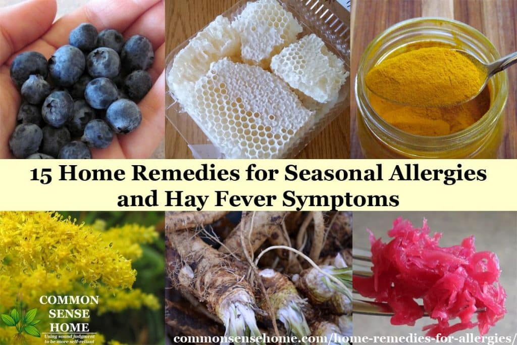 Home remedies for Seasonal Allergies and tips to help hay fever symptoms; learn which food reduces allergy symptoms, and foods that may make them worse.