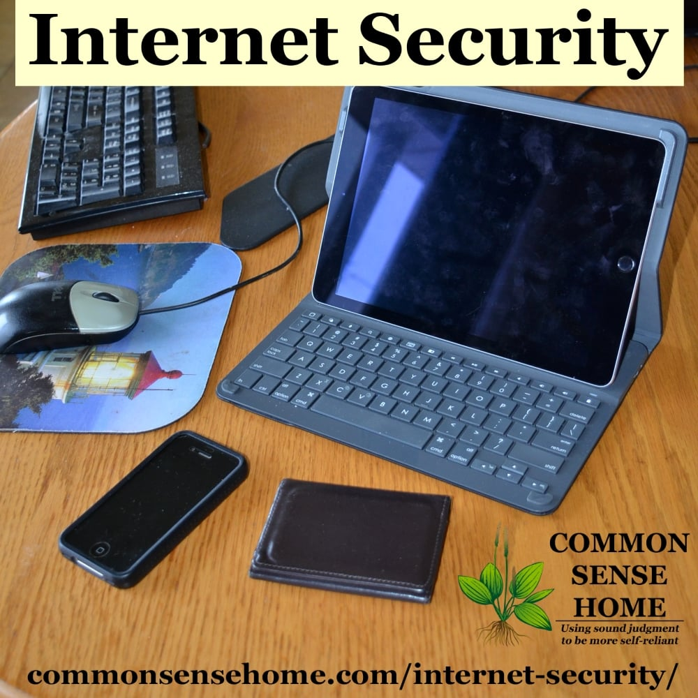 From RFID blockers for credit cards to malware and identification protection, check out these internet security tips and tools to keep your information safe.