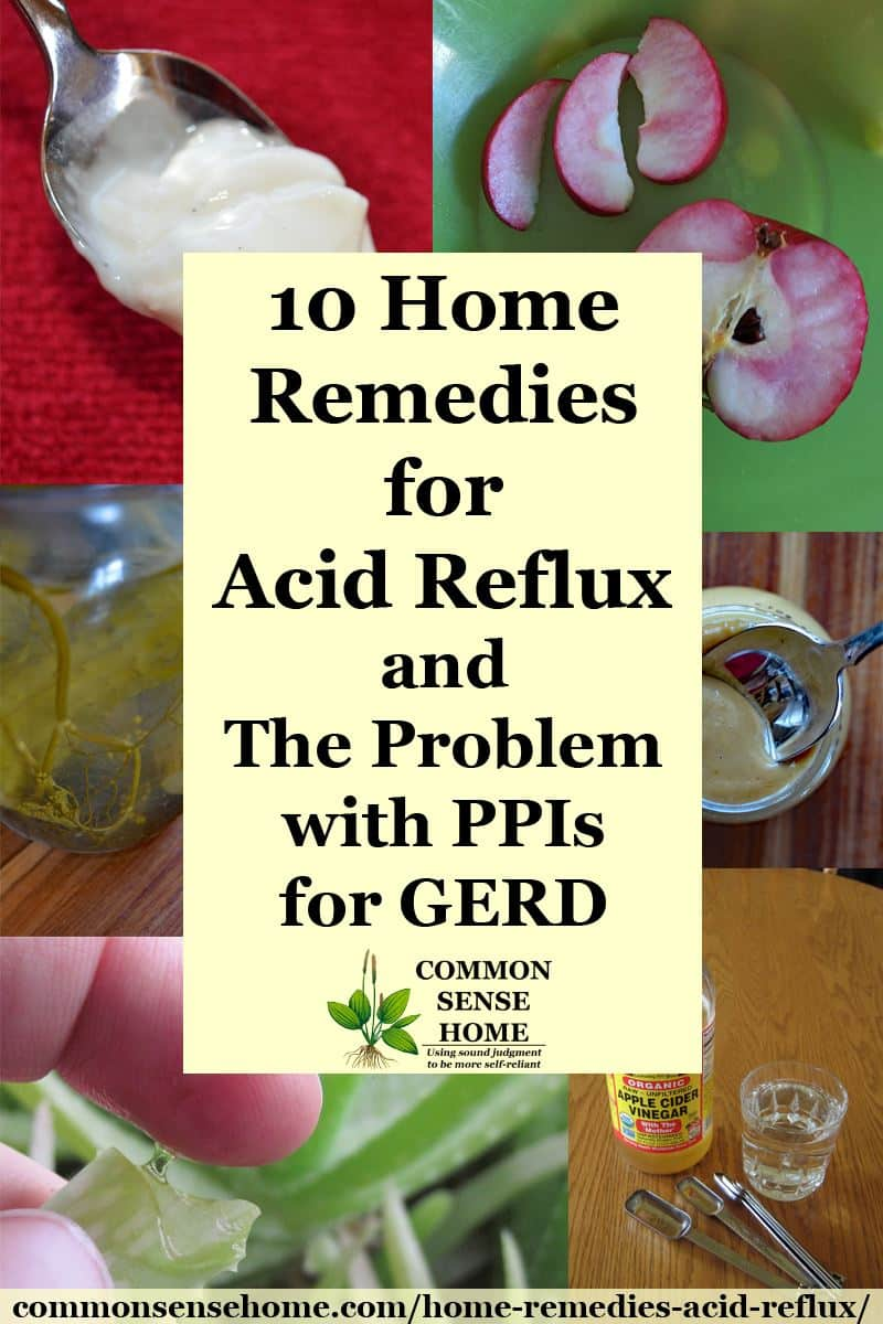10 Home Remedies for Acid Reflux and The Problem with