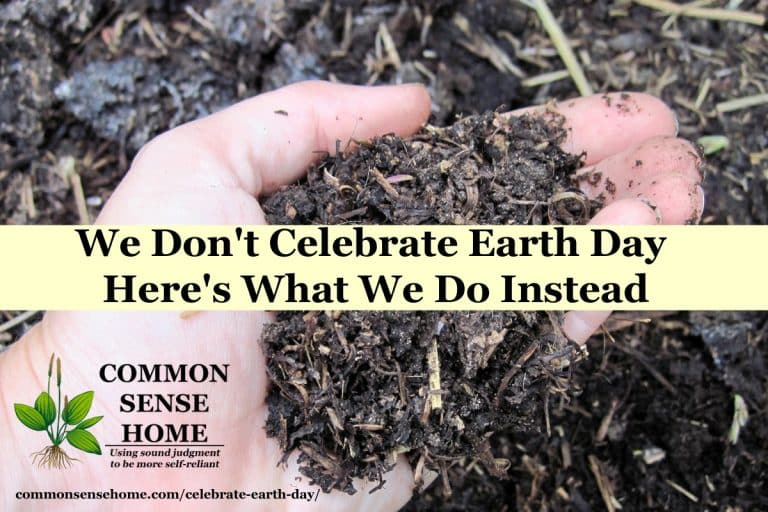 We Don't Celebrate Earth Day – Here's What We Do Instead