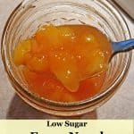 Fuzzy navel peach jam