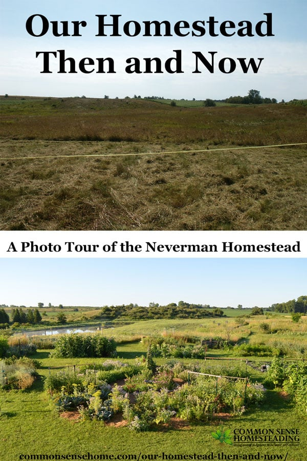 Our Homestead - Then and Now - Photo Tour of the Neverman Homestead
